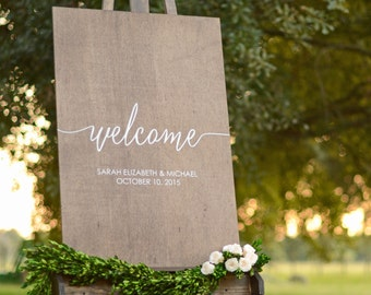 Welcome wedding sign, Wedding welcome sign, Wooden Welcome Sign, Welcome sign for wedding, Wooden Welcome Sign, wood weddign signs