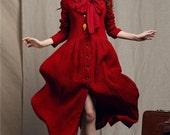 Maxi Bridesmaid Dress in Red, Evening Dress Gown, Cocktail Dress, Linen Dress, Maxi Dress, Red Dress, Formal Dress, Prom Dress, Long Dress