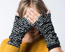 Dracula Writing Gloves