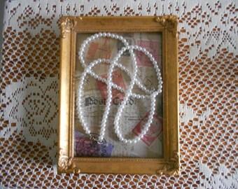 Vintage Gold Florentine  5x7 picture frame