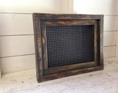 Reclaimed Wood Vertical Planter - Please Do Not Purchase - Reserved for Sue
