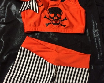 Halloween Cheer Outfit