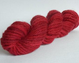 SALE Wine Super Chunky Wool Yarn Skein 50g