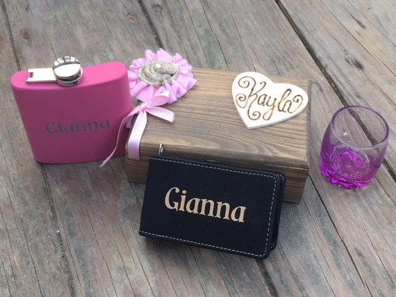 Personalised Wedding Gift Cheap : Personalized Bridesmaid Gift, Bridesmaid Gifts, Cheap Bridesmaid Gifts ...