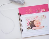 Simple Girl Baby Book // Baby Memory Book // Pink Baby Book // Modern Baby Book // Best of Baby // Gifts for Moms  // Baby Shower Gift