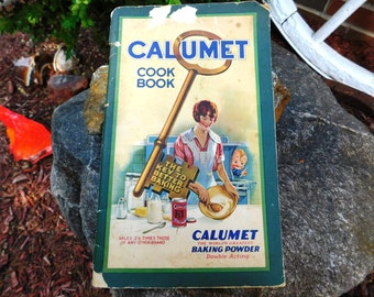 Vintage Advertising Calumet Baking Powder Cook Book - 1923 - from DustyMillerAntiques