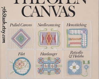Embroidery - The Open Canvas - An Instructional Encyclopedia of Open Work Techniques - Carolyn Ambuter - Needlework