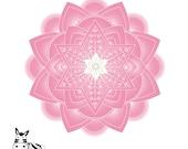 Jewish Mandala Wall Art P...