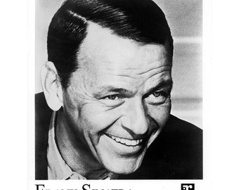 Frank Sinatra Publicity Photo 8 by 10 Inches