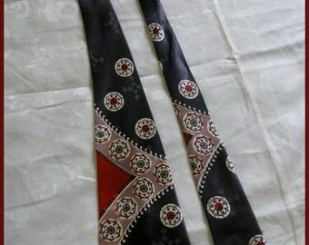 Vintage Swing Tie Vintage Necktie 1940's 50's Tie