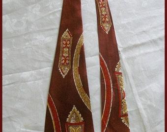 Vintage Necktie Swing Tie 1940's 50's Vintage Tie