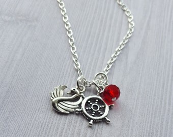 Once Upon A Time Captain Swan Necklace