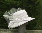 Hat Derby Hat Grey Hat Chevron Sun Hat