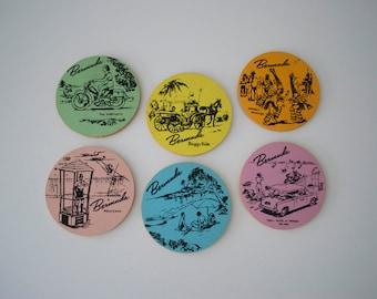 Vintage Bermuda coasters