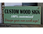custom sign, customized wood sign, family name sign, holiday sign, home decor sign
