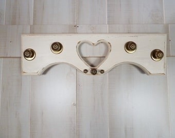 Architectural Salvage  Coat Rack Jewelry Organizer Vintage Hardware