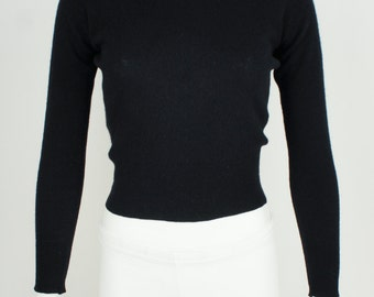 Vintage 1950's Joseph Magnin Cashmere Sweater size Small