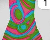 Barbie #1822 Swirly Cue AUTHENTIC Dress Only