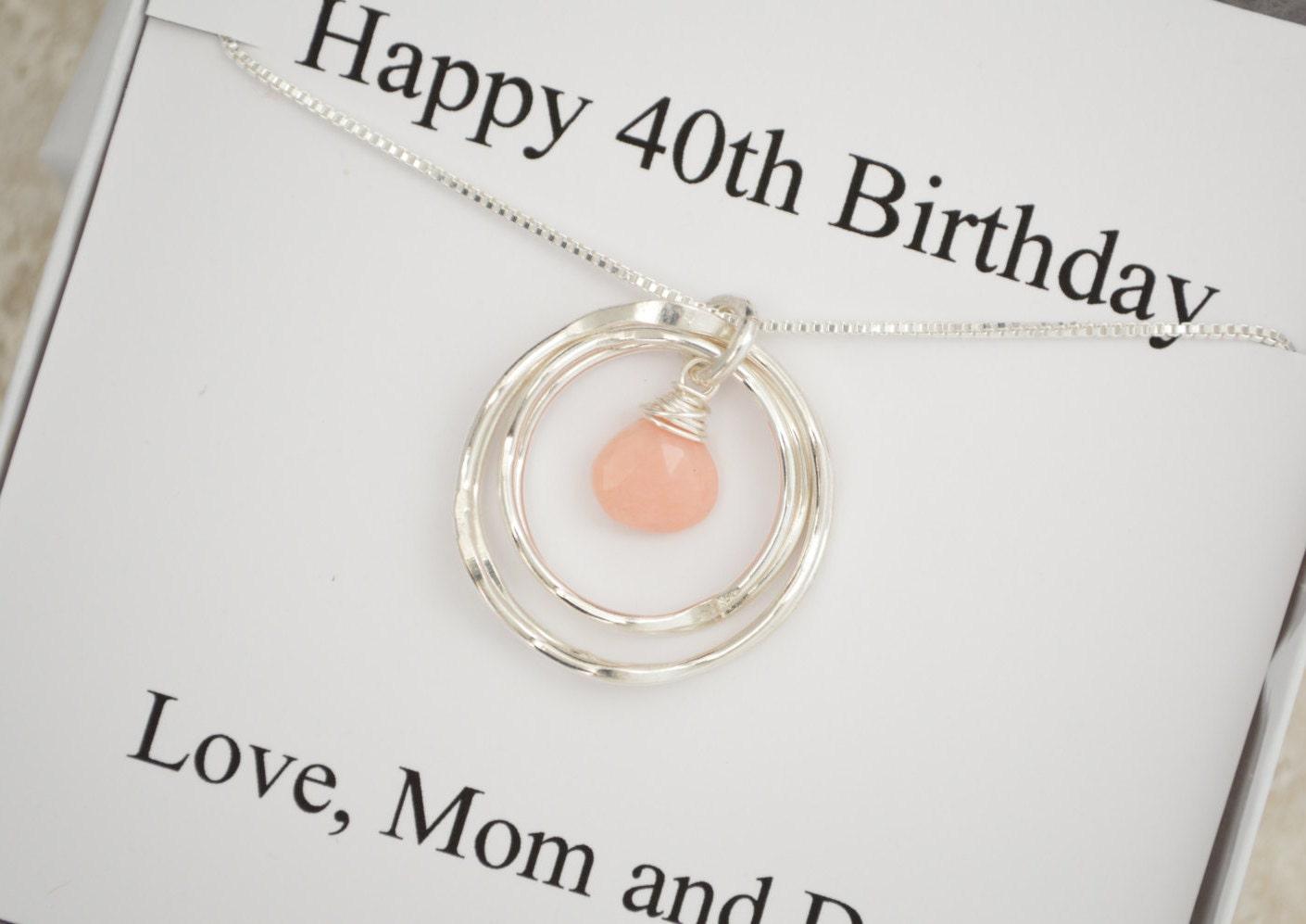 40th Birthday Gift For Her, 40th Birthday Gift For Women
