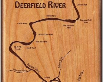 Deerfield river etsy for Deerfield river fly fishing