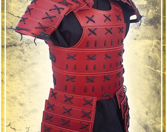 Samurai Armor with Pauldrons