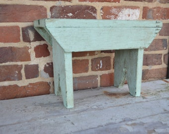 Vintage Farmhouse/Country/Cottage Chic Milking Cow Bench