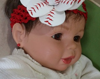 Child's open baseball Sport Bud headband