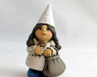 Items Similar To Female Gnome Large 12 Tall Girl