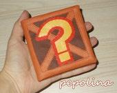 """Crash Bandicoot """"Question Block"""" Crate Wallet"""