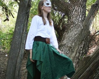 CLEARANCE~Holly Berry Skirt