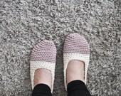 KAARNA- Women bicolor cotton slippers