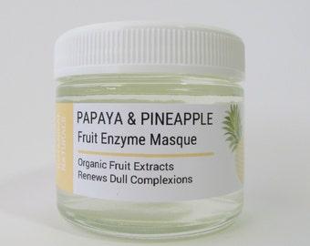 Papaya Pineapple Enzyme Facial Mask, Exfoliate, Facial Skin Care