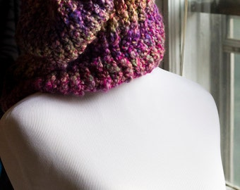 Autumn Berry knit hat