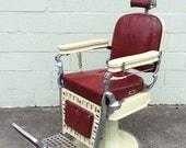 Emil J Paidar Barber Shop or Tattoo Chair