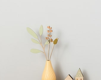 Wooden Flowers - Summer Sage Set - Mother's Day Gift