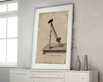 ON SALE Technical Drawing Astronomical Instrument Print Poster Pyrheliometer