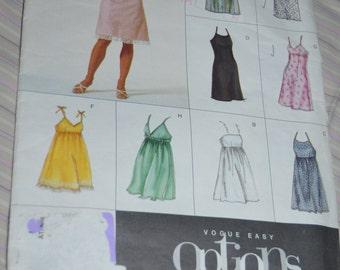 Vogue 2424  Misses / Misses Petite  Dress Sewing Pattern - UNCUT - Sizes 14 16 18