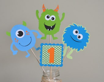 Monster Bash Centerpiece, Monster Party Decorations