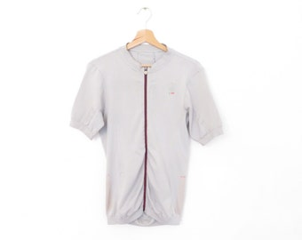 CAMPAGNOLO IRS grey cycling jersey Made in italy, size XL
