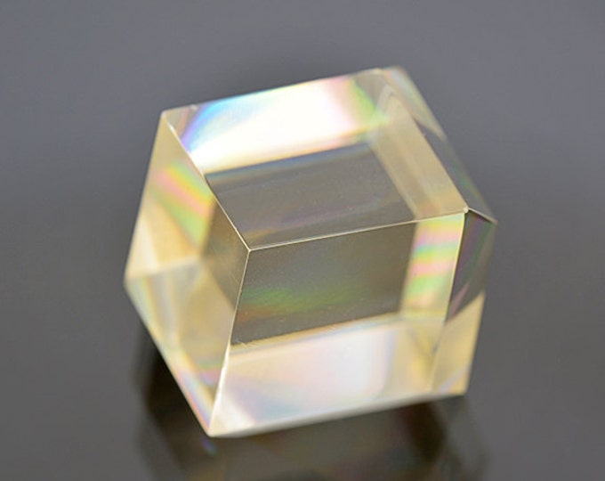 UPRISING SALE! Fantastic Faceted Calcite Gemstone Crystal from Russia 54.66 cts.