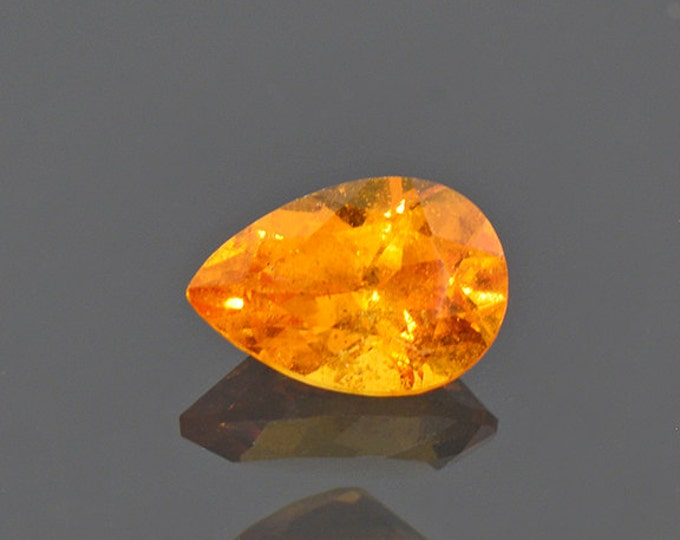 Lively Orange Spessartine Garnet Gemstone from Nigeria 1.05 cts.