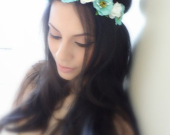 Flower Crown, Floral Crown, Boho Hair Accessory