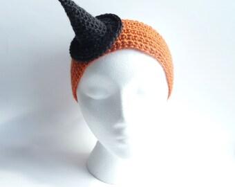 Witch Hat CROCHET PATTERN Crochet Headband Halloween Costume Witch Costume Halloween Hat Witch Outfit Halloween Outfit Halloween Accessories
