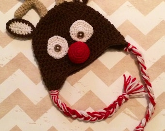 Made to Order Reindeer Beanie - All Sizes