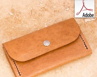 Build Along Leather Pattern 5: Compact Purse/Wallet