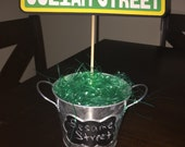 Iconic Sesame Street Sign - Large - 11 Inches Long - for Birthday Centerpiece/Decoration