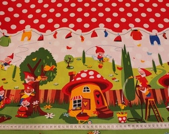 Michael Miller Gnomeville fabric