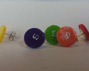 Skittle Earrings