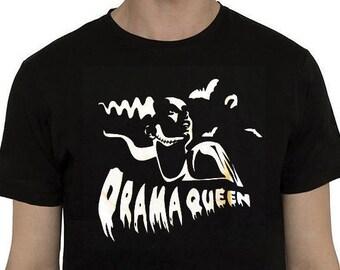 Drama Queen T-shirt- Frankenstein Bride tribute