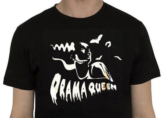 Drama Queen T-shirt- Frankenstein Bride tribute